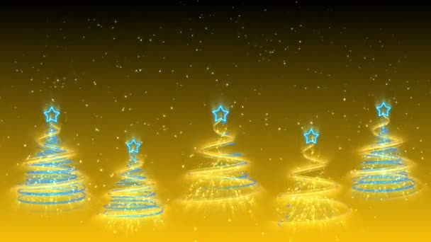 Christmas Trees Background - Merry Christmas 35 (HD)