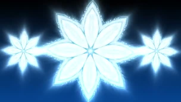 Blue Christmas Star - Abstract Background 89 (HD)
