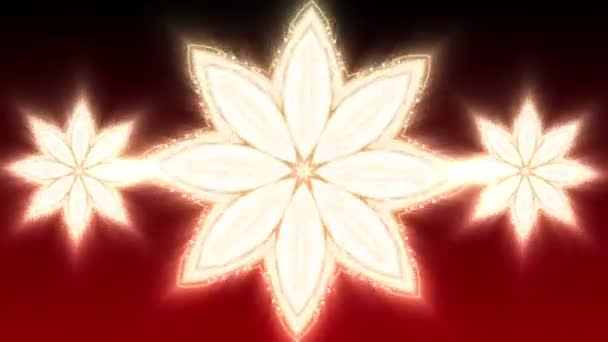 Red Christmas Star - Abstract Background 90 (HD)