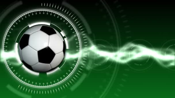 Futball labda Sport háttér 01 (Hd)
