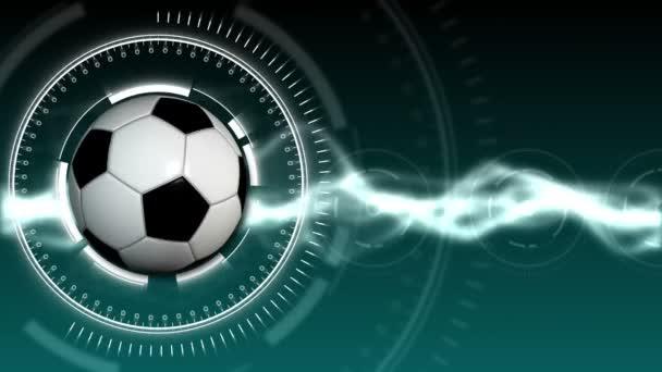 Futball labda Sport háttér 02 (Hd)
