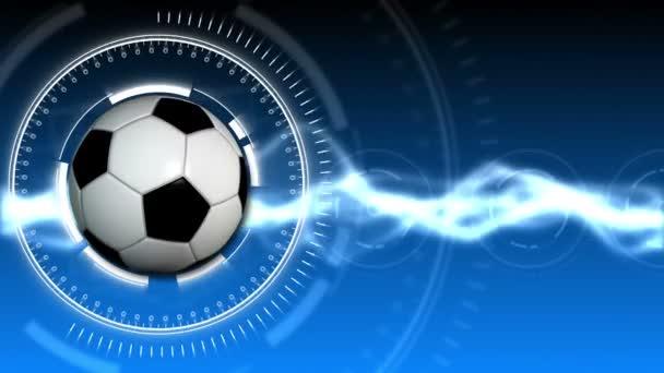Soccer Ball Sport Background 03 (HD)