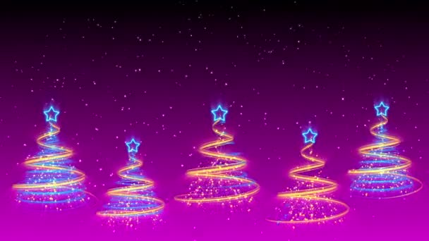 Christmas Trees Background - Merry Christmas 42 (HD)