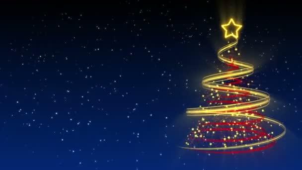 Christmas Tree Background - Merry Christmas 25 (HD)