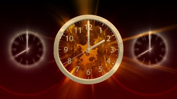 Passing Time Background Clock 60 Hd Video By C Maraexsoft Stock Footage 19154575