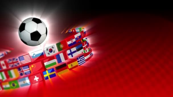 Soccer International Flags Sport Background 54 (HD)