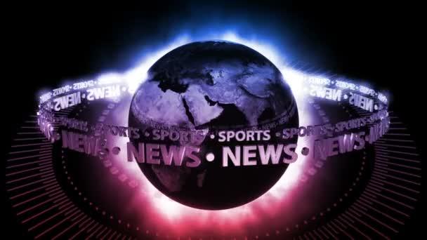 fialový zprávy země