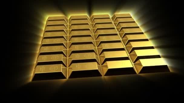 Growing Gold Bricks Pyramid