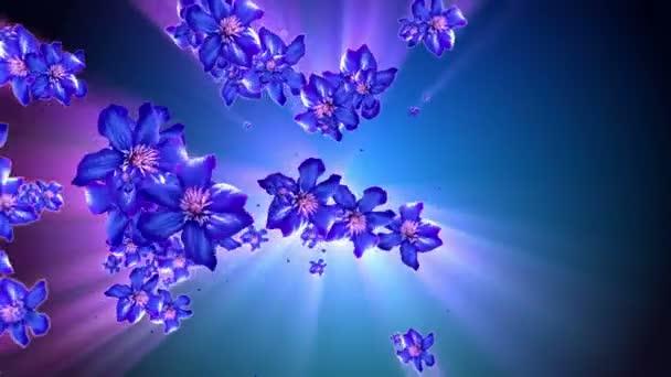 matka příroda květinové pozadí