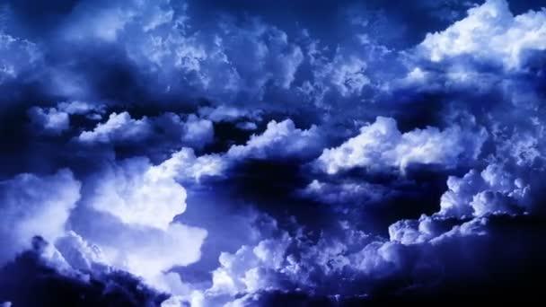 blesk bouřková mračna