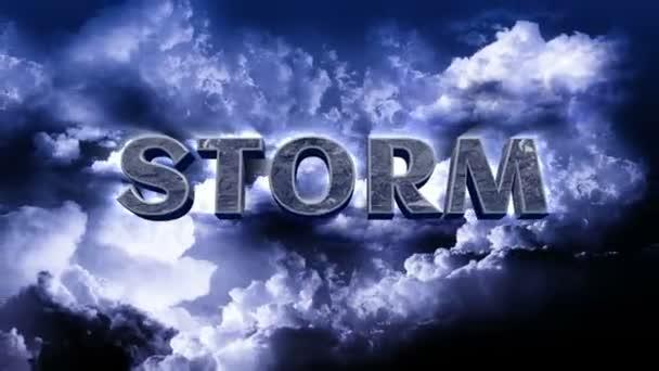 blesky na obloze mraky a bouře titul