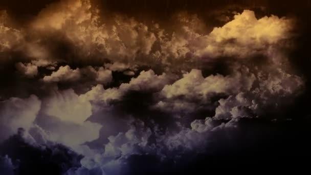 blesk bouřka s deštěm