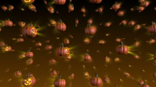 Halloween dýně pádu pozadí smyčky