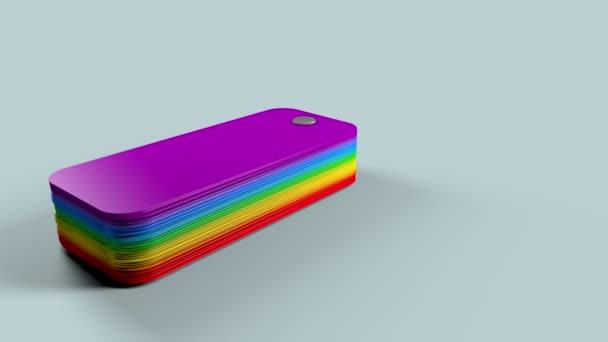 vzorkovník barev palety