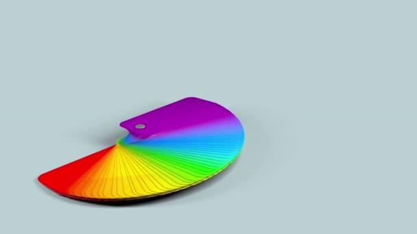 vzorkovník barev palety s alfa