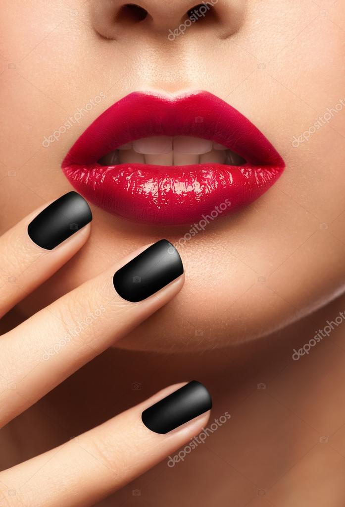 nails and lipstick tumblr - 545×800