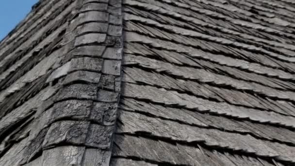 Stará dřevěná střecha