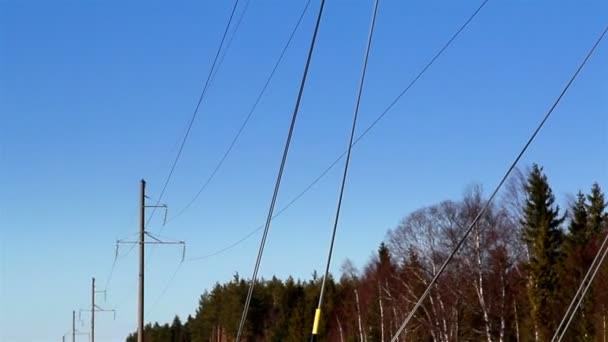 Některé kabelové vodiče na post