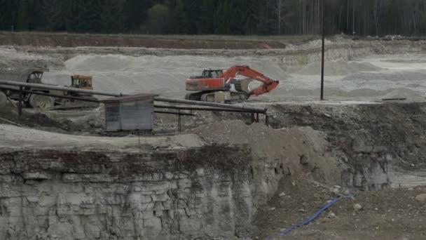 A limestone mining industry