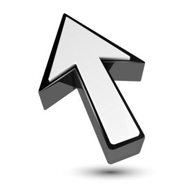 3d arrow cursor pointer