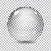 Fotografie průhledná skleněná koule