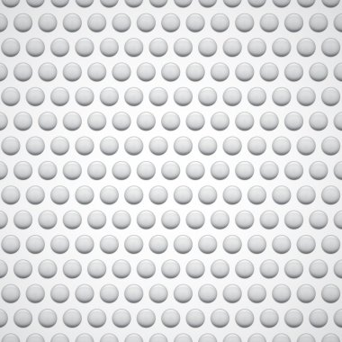 White background with bubbles. Bubble wrap clip art vector