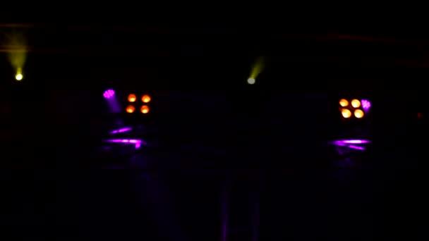 Reflector Strobe Lights Background