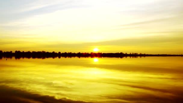 krásné jezero sunrise