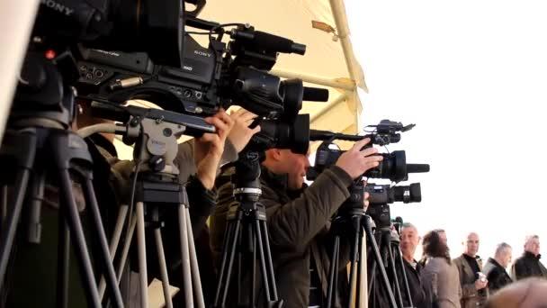 Medien-Presse-Kameras