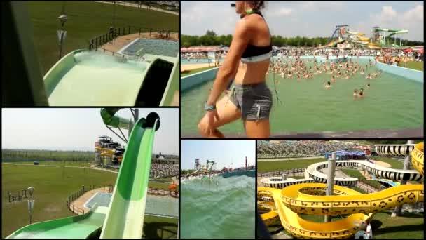 Aqua amusement park  multi screen