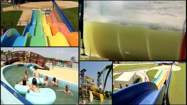vodní zábavní park multi obrazovky