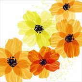 Fotografie Yellow flowers