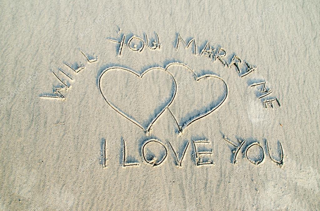 Liefde En Tekst Op Zand Stockfoto Shahril 25107273