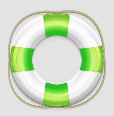 Vector lifebuoy icons