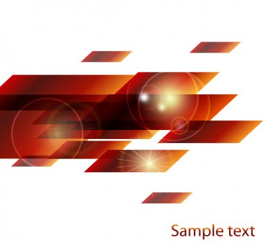 Vector shiny design elements