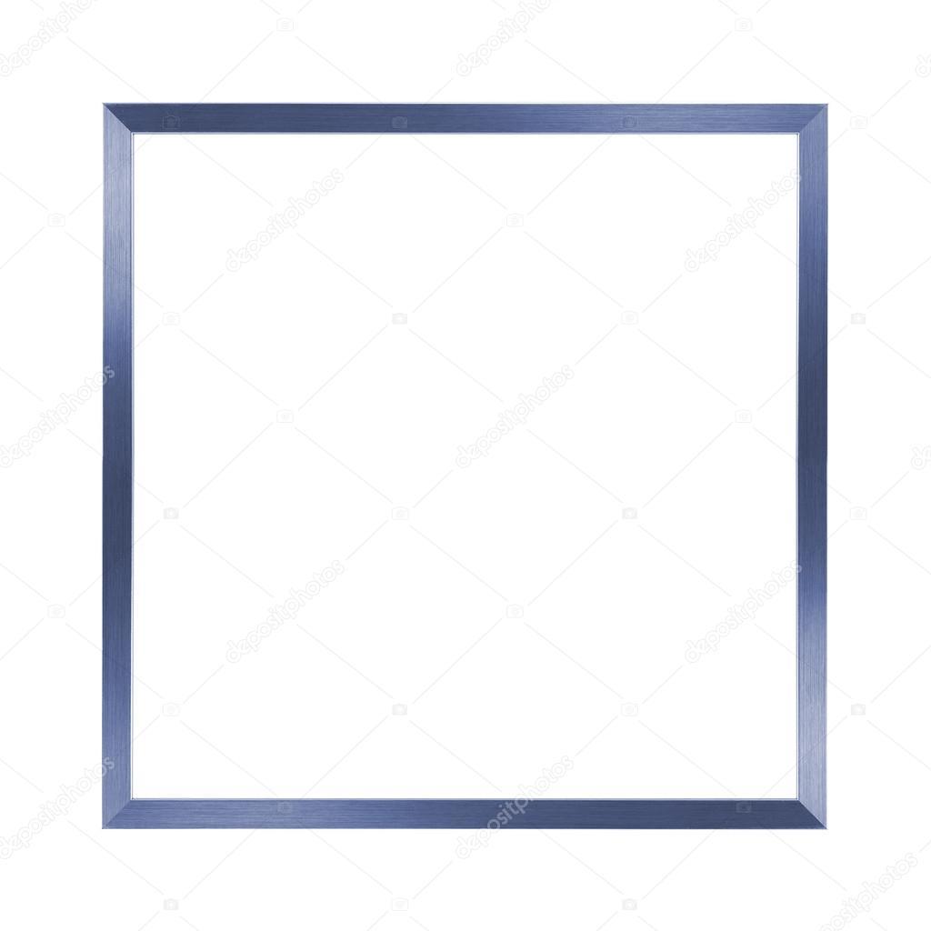 marco de metal azul fino — Foto de stock © studio023 #27354561