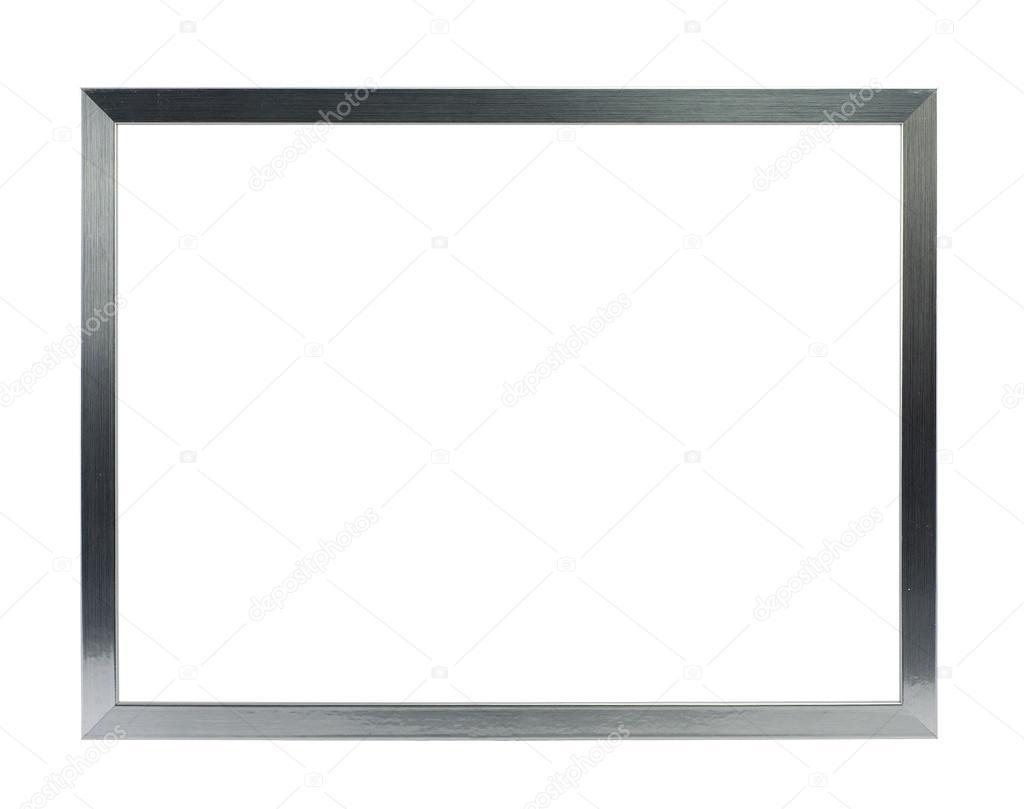 marco de metal plata fina — Fotos de Stock © studio023 #30763747