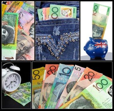 Australian Money Collage