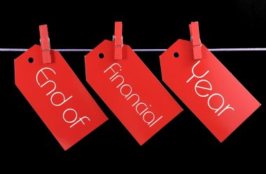 End of Financial Year Sale Tags