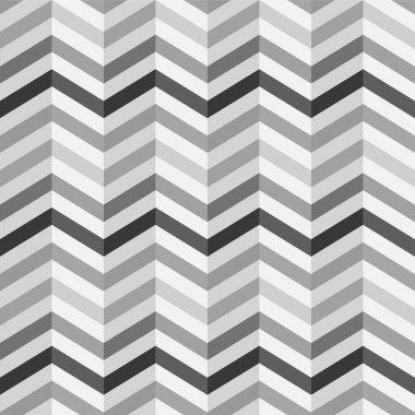 Fashion zigzag pattern in retro colors