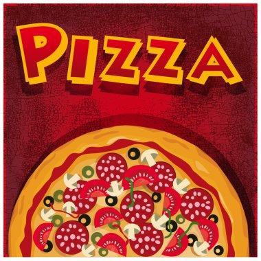 Pizza half