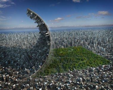 Urban development stock vector