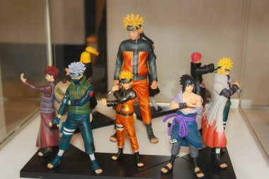 A model of the character Naruto from the movies and comics