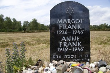 Monument to Margot and Anne Frank