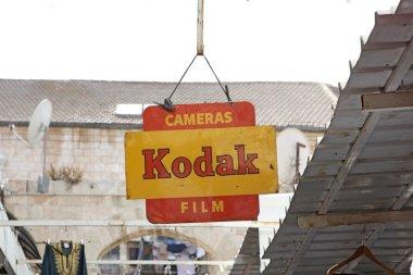 Billboard Kodak, Jerusalem, Israel