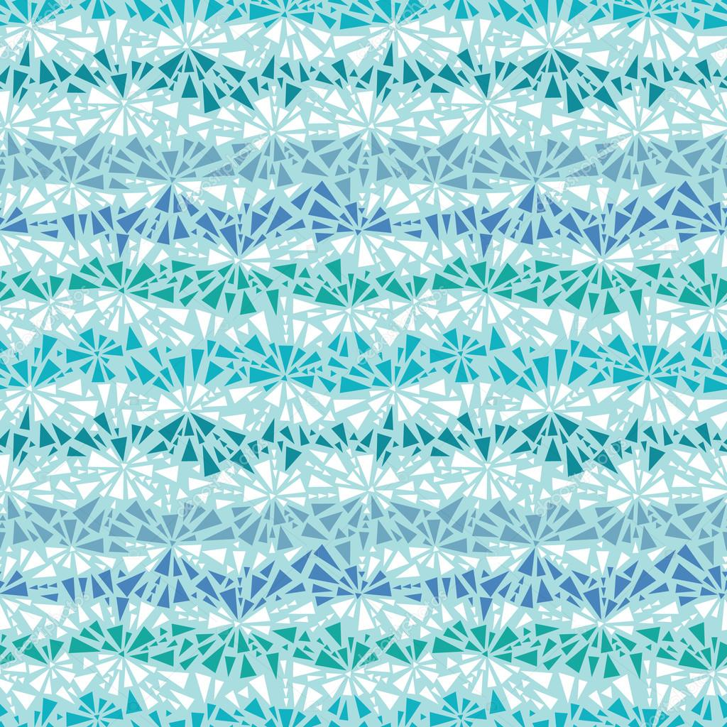 Abstract ice chrystals texture seamless pattern background