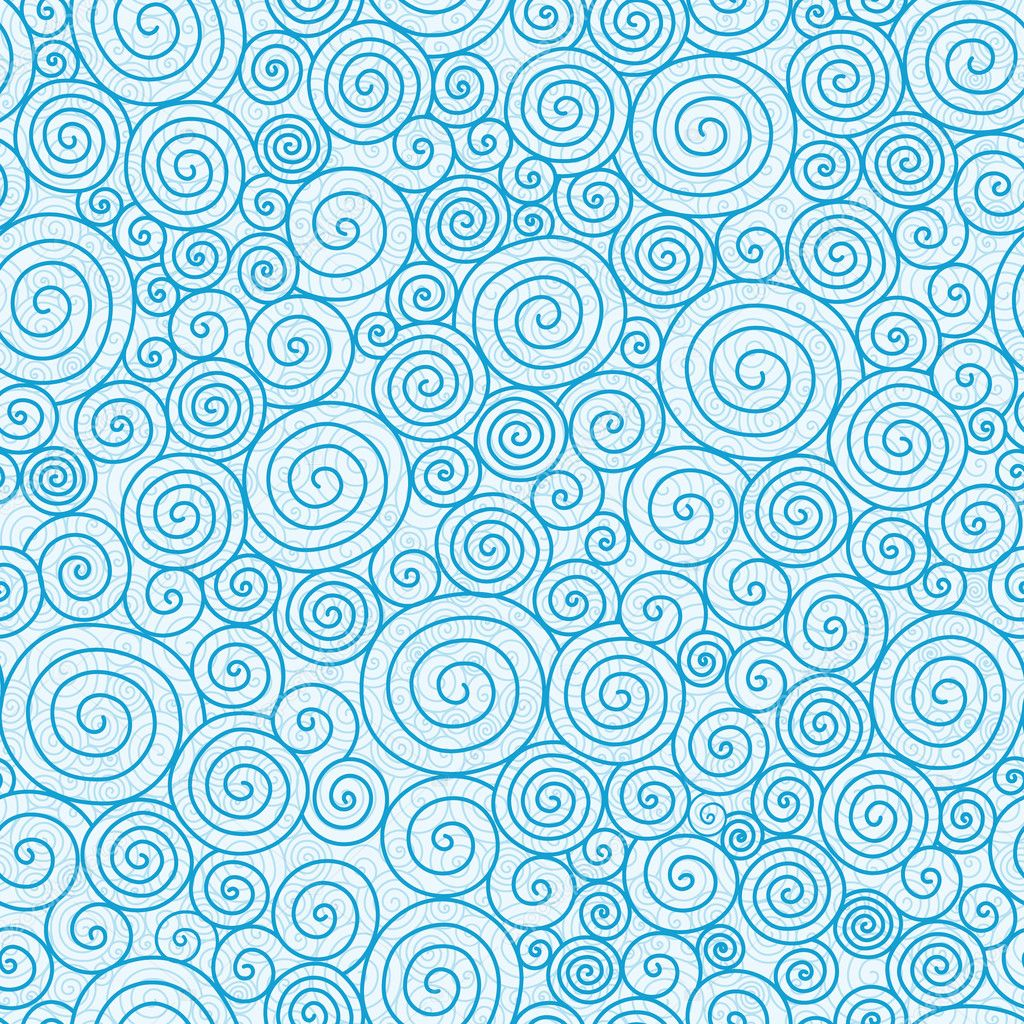 Abstract swirls seamless pattern background