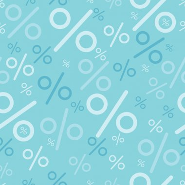 Percentage signs seamless pattern backgrounds