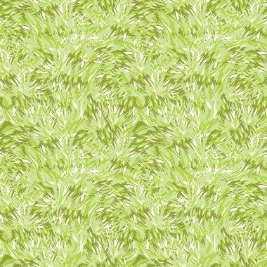 Green grass texture seamless pattern background