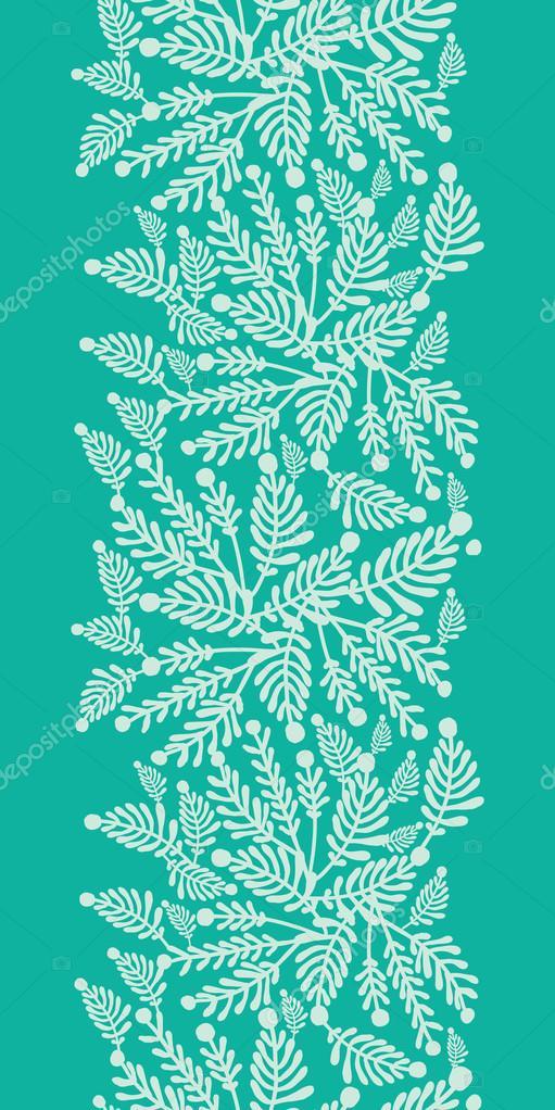 verde esmeralda plantas verticales de fondo u vector de stock